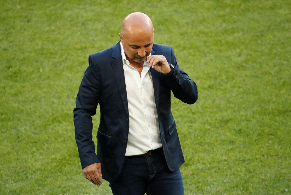 Jorge Sampaoli, treinador da seleção argentina