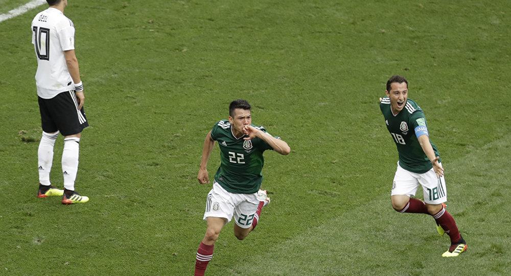d97f9750de México supera Alemanha em 1ª derrota europeia na Copa da Rússia ...