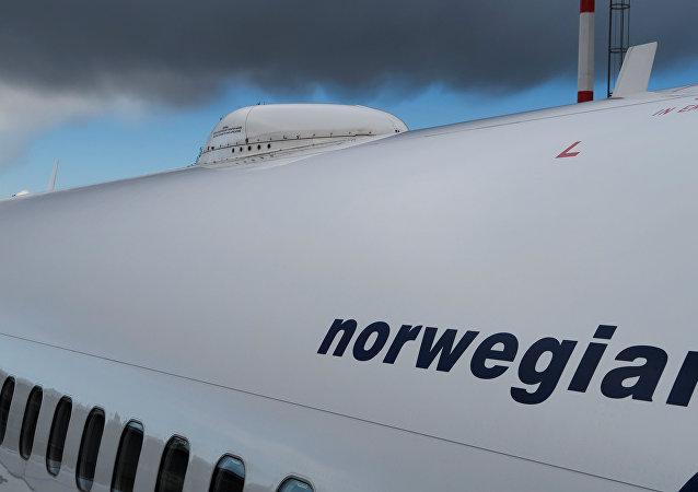 Boeing 737-800 da companhia aérea Norwegian Airlines