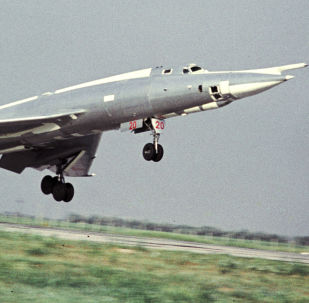 Bombardeiro Tu-22 (foto de arquivo)