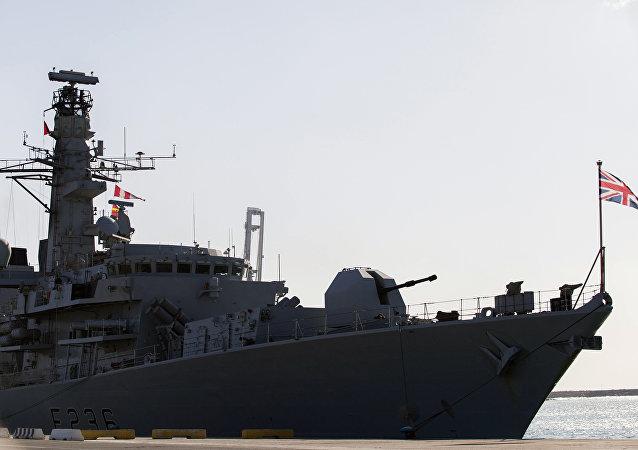 Fragata da Marinha Real Birtânica HMS Montrose