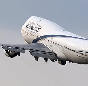 Boeing 747-400 da companhia aérea El Al, de Israel