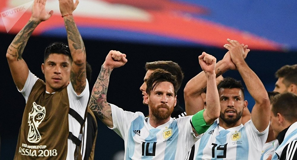 Lionel Messi liderou a Argentina no emocionante confronto com a Nigéria  nesta terça-feira f1080650a0f86
