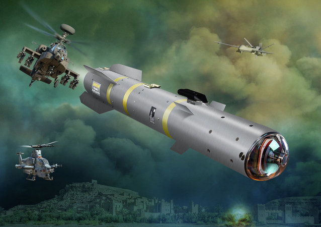 Novíssimo míssil ar-terra Joint Air-to-Ground Missile (JAGM) da empresa Lockheed Martin