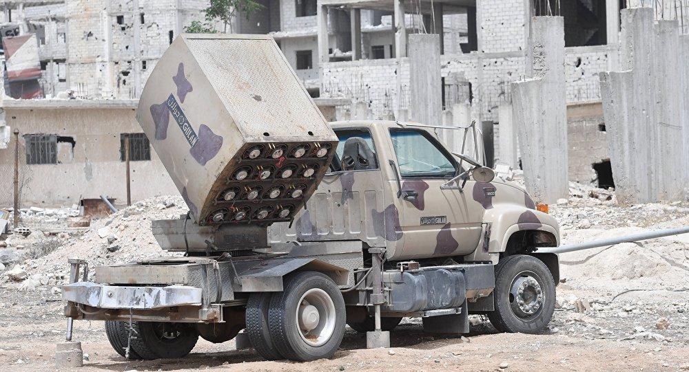 Sistema de mísseis sírio Golan (foto de arquivo)