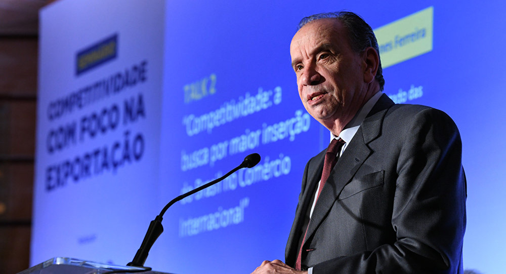 Aloysio Nunes Ferreira, ministro das Relações Exteriores do Brasil