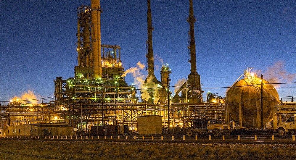 Refinaria de petróleo (imagem referencial)