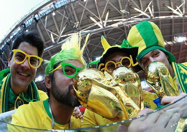 Torcida brasileira na Copa 2018