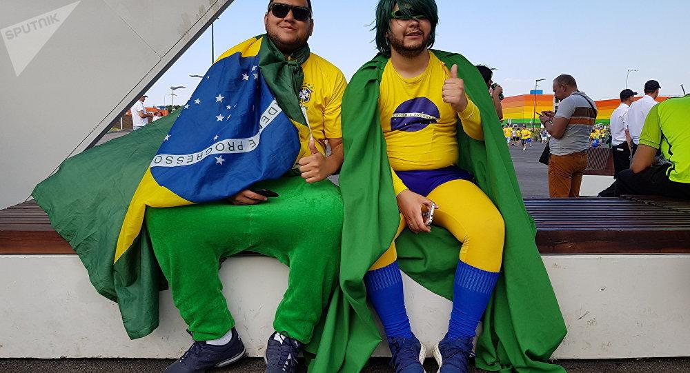 e587aa32e2 Por que torcida do Brasil fez toda a diferença na hora da vitória contra  México  (VÍDEO)