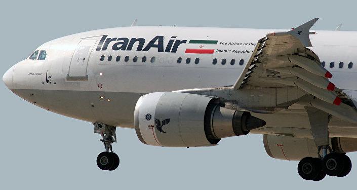 Avião Airbus A300B2-203 da companhia aérea Iran Air