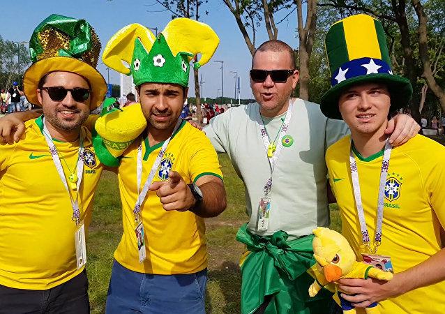 Idioma russo está na ponta da língua dos torcedores brasileiros
