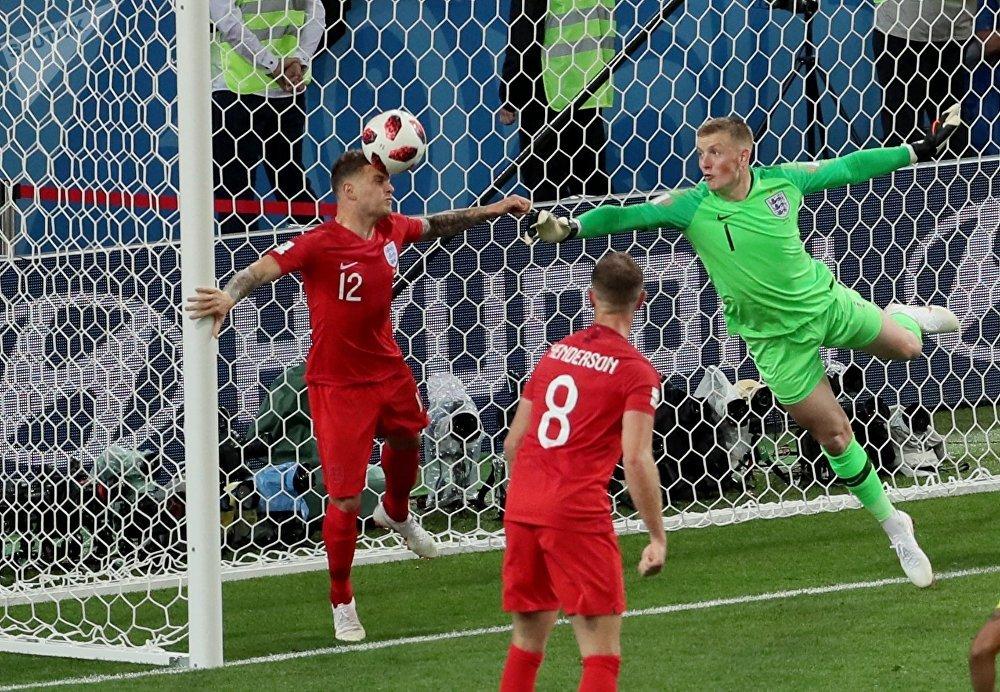 Colômbia empata o jogo contra a Inglaterra