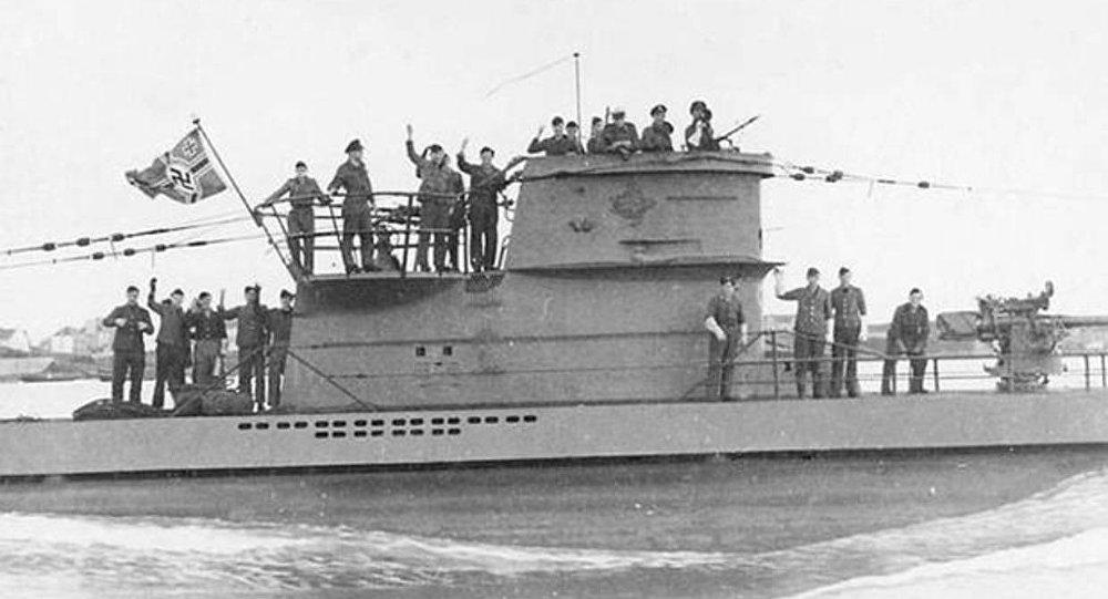 Submarino da Alemanha nazista U-2513 del Tipo XXI (imagem ilustrativa)