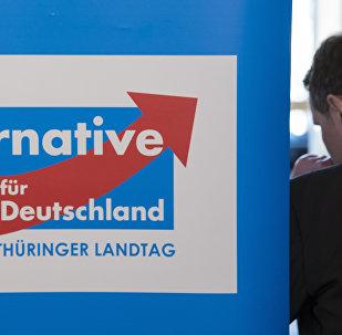 Bjoern Hoecke, presidente do Alternative fuer Deutschland (AfD) no estado alemão da Turíngia.