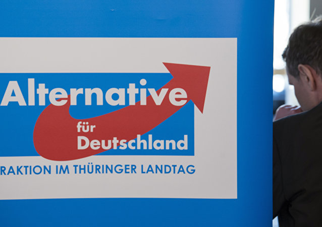 Bjoern Hoecke, presidente do Alternative fuer Deutschland (AfD) no estado alemão da Turíngia.