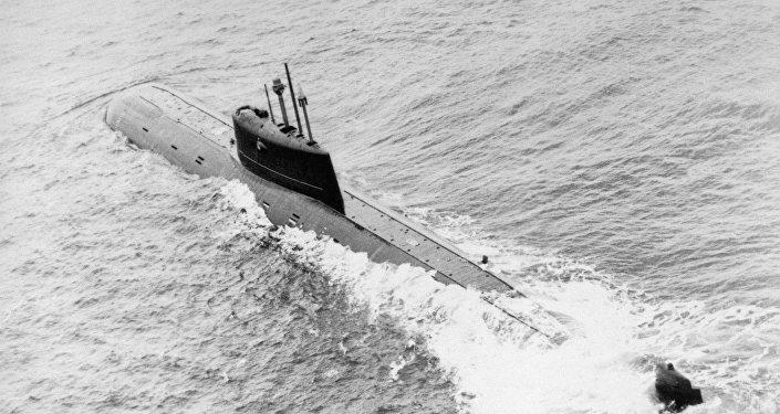 Submarino soviético K-278 Komsomolets