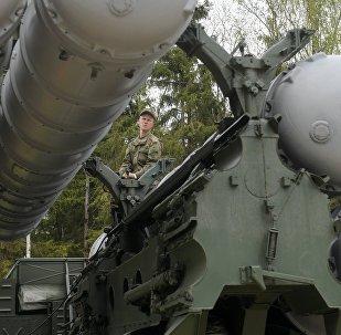 Sistema de defesa aérea S-400