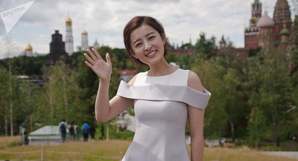 Yang Mimgming, apresentadora chinesa