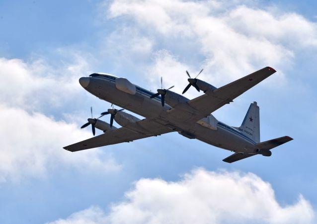 Aeronave russa com capacidade de interferência Il-22PP