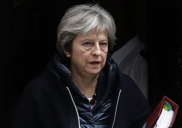 Theresa May, primera ministra do Reino Unido