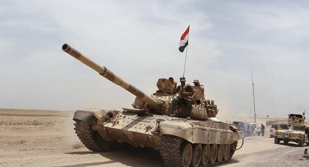 Os militares iraquianos