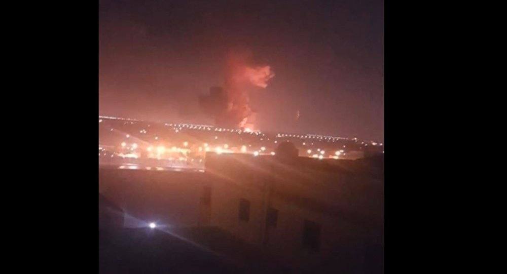 Explosão no Egito.