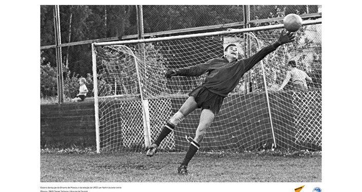 O lendário goleiro Lev Yashin, em registro de 1969.