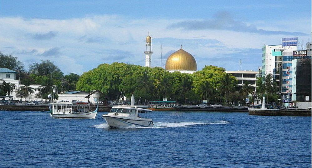 Malé, capital das Maldivas