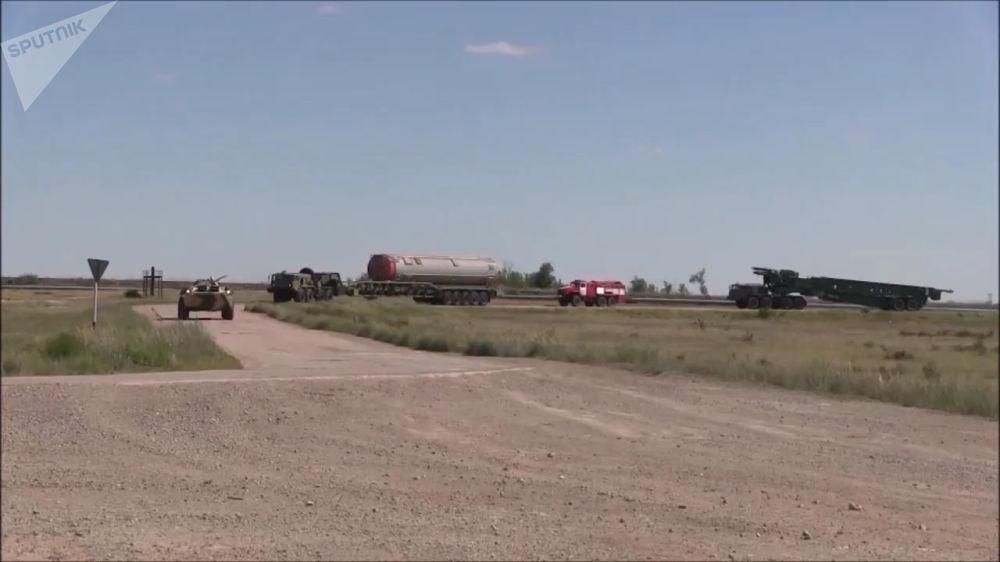 Polígono de testes onde foram testadas as capacidades do recém-desenvolvido míssil russo Avangard