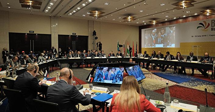 Fórum Midiático do BRICS, Cidade do Cabo (África do Sul),18-19 de julho