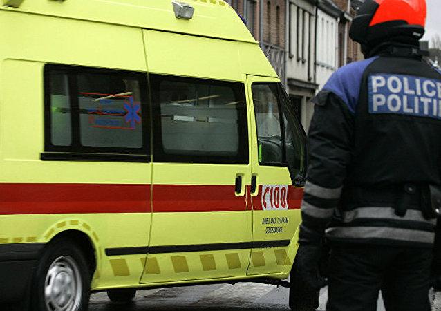 Ambulância belga