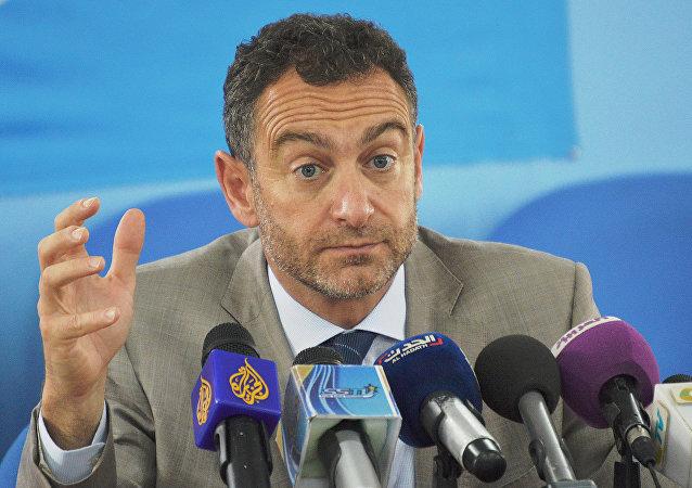 Toby Lanzer, coordenador humanitário da ONU no Sudão do Sul