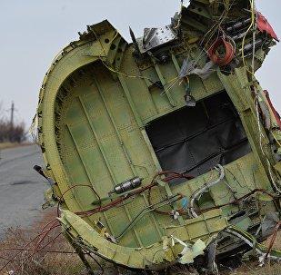 Local da queda do MH17 derrubado na Ucrânia.