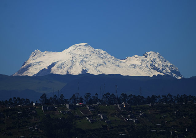 Cordilheira dos Andes no Equador