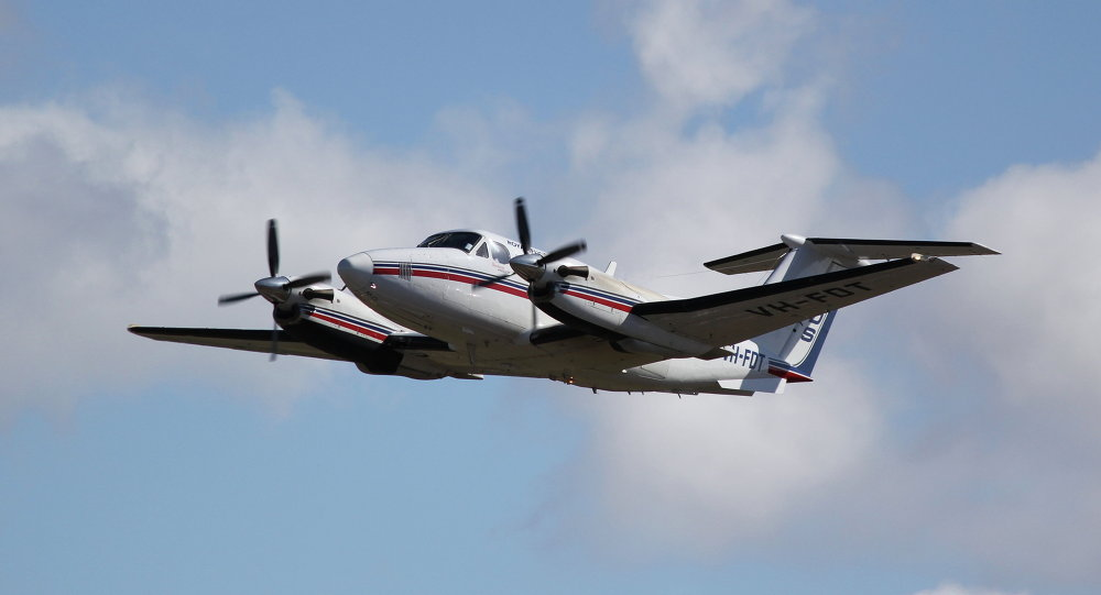 Super King Air 200 (imagem de referência)