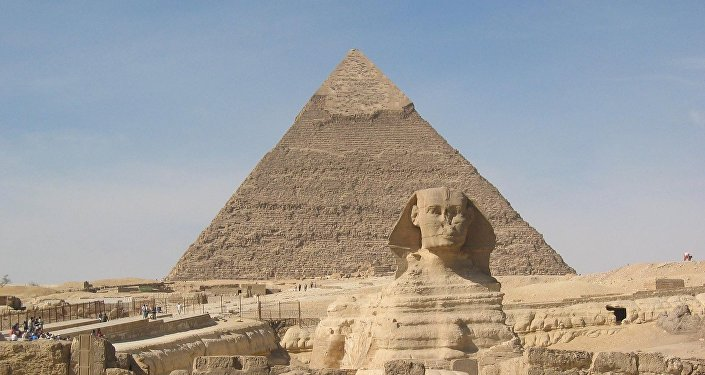 Esfinge e Pirâmide de Quéops