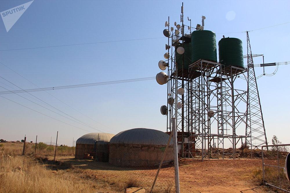 Posto de transmissão de sinal de internet em Kleinfontein