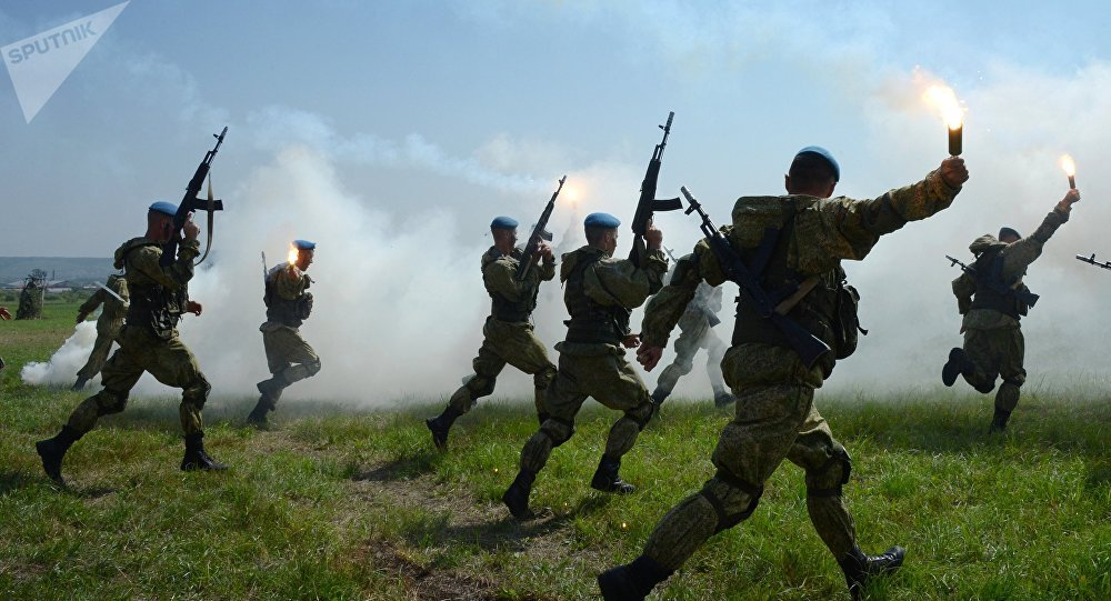 Militares das Tropas Aerotransportadas da Rússia