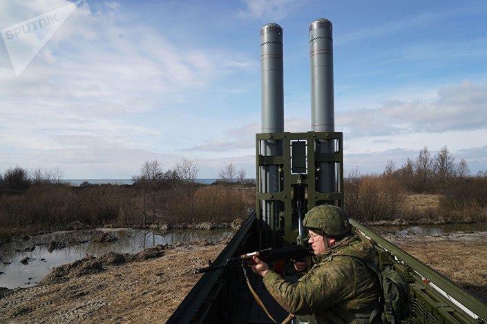 Sistema de mísseis de defesa costeira Bastion