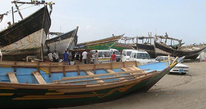 Cidade portuária de Hodeida, no Iêmen (arquivo)