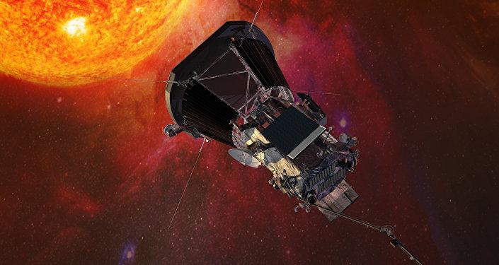 Sonda Parker Solar Probe aproximando-se do Sol