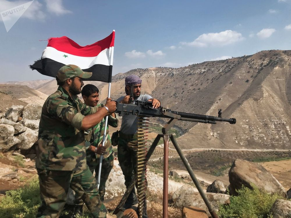 Exército sírio finalmente liberta a província de Daraa