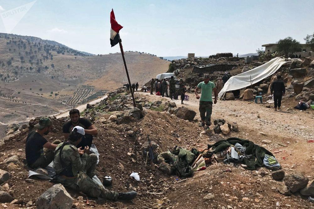 Exército Árabe Sírio leva a cabo operação antiterrorista na província de Daraa