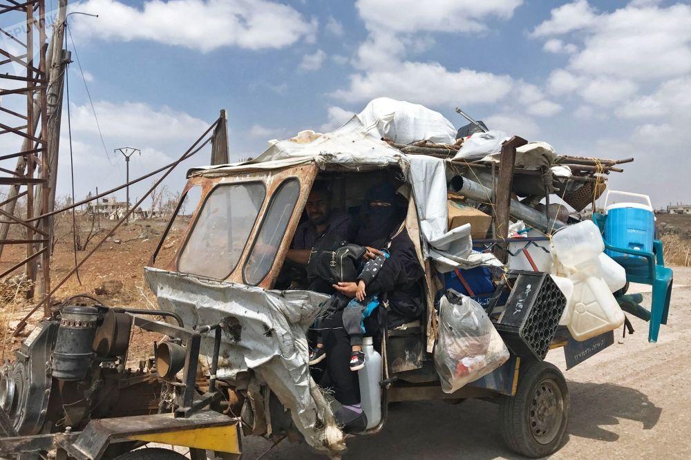 Mesmo depois da expulsão de terroristas, ainda é difícil viver em Daraa