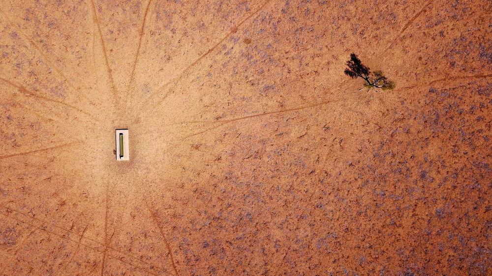 Seca atinge a cidade de Walgett, estado de Nova Gales do Sul, Austrália, 22 de julho