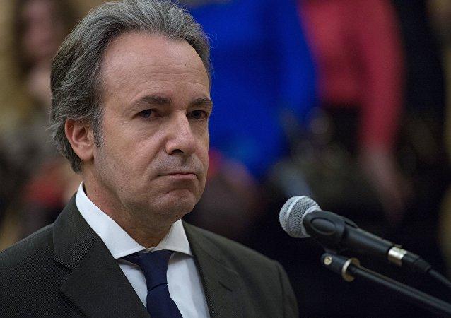 Andreas Fryganas, embaixador da Grécia em Moscou (foto de arquivo)