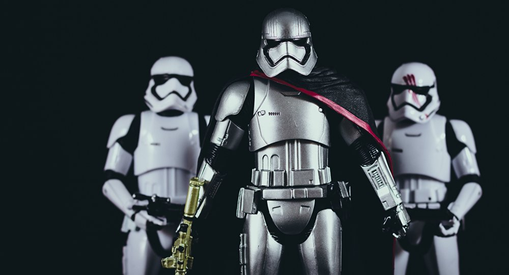 Os Stormtroopers (imagem referencial)