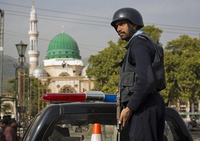 Policial paquistanês. (Arquivo)