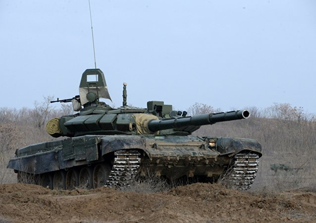 Tanque russo T-72B3
