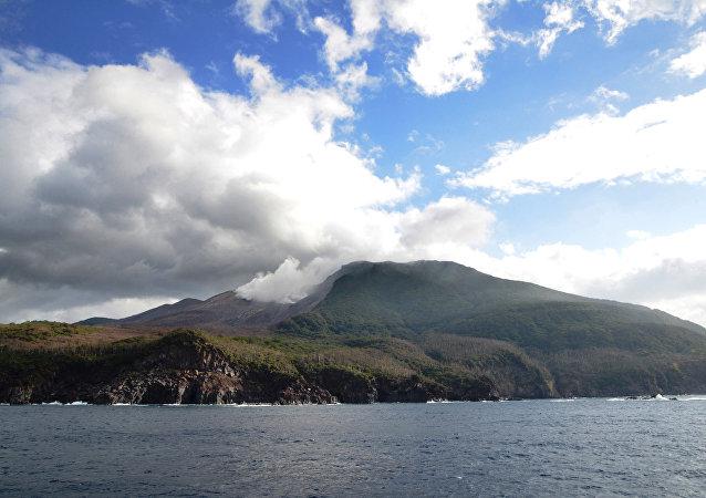 Ilha de Kuchinoerabu, em Kagoshima, sudeste do Japão.